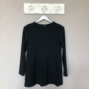 J. Jill | Wearever Collection Black Long Sleeve